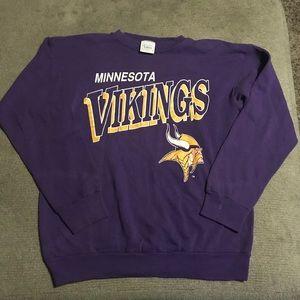 Vintage Minnesota Vikings sweater Tultex - Large